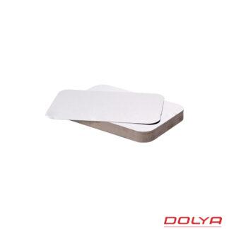 Крышка SP62L, 110 мм*210 мм, картон-алюминиевая, 100 шт./уп. (арт.15035)