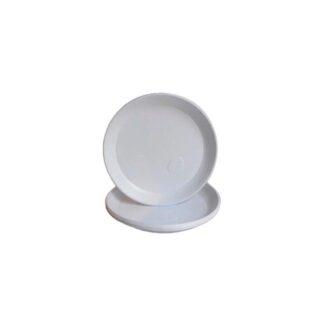 Тарелки без деления, белые, d=20,5 см ( 100 шт./уп. )
