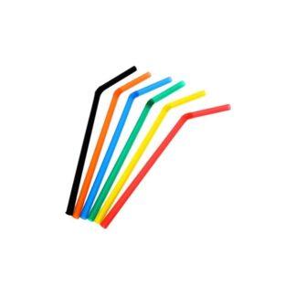 Трубочки лопатка, цветные ( 100 шт./уп. )