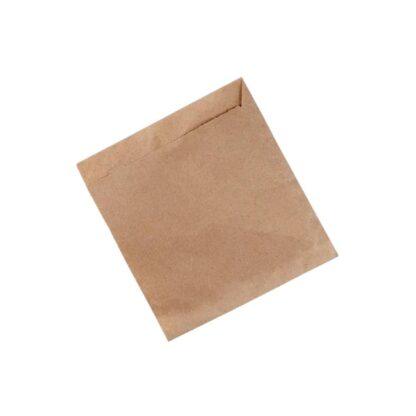 Пакет уголок, коричневый, 170*165 мм