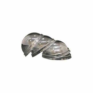 Кришка-купол пластикова, РЕТ з отвором d-9,4 см, 50шт/пак, 16пак./ящ., Polish (арт.16024)
