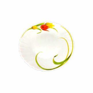 "Тарелка столовая ""Тюльпан"", 22.5 см, шт. (арт 0.1430)"