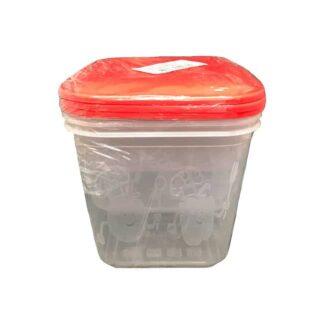 Набор контейнеров для еды, 0.7 л+1.0 л+1.5 л, 3 шт./уп. (арт 0.1273)
