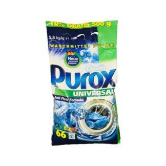 """Стиральный порошок """"PUROX"""", стирка автомат, 5.5 кг. (арт.35004)"""